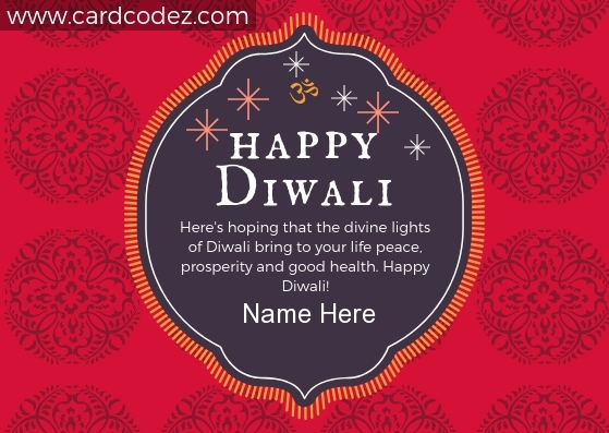 write name on diwali greeting card - name on diwali wish photos and image