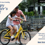Happy Father's Day Greeting Card With Name